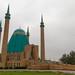 A maior mesquita do Cazaquistão em Pavlodar