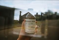 Tonic (hollyjadephoto) Tags: portra160 35mm film colournegative doubleexposure multipleexposure birmingham hockey tonic bottle design light