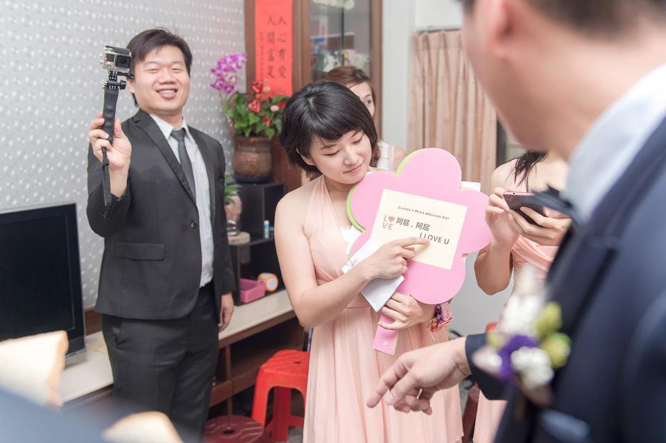 台南婚攝 婚禮紀錄 情定婚宴城堡 C & M 023