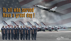 Veterans Day 2016 (mikeyasp) Tags: planes jets airshow homestead thunderbirds veterans america americanflag patriotic veteransday pilots airforce photoshop layers