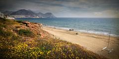 (390/16) Playa de San Jos (Almera) (Pablo Arias) Tags: pabloarias photoshop nxd cielo nubes texturas arquitectura espaa paisaje playa costa orilladelmar agua mar mediterrneo almera comunidadandaluza sanjos