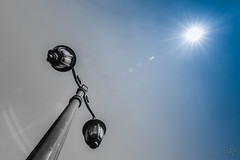 Lonely Lightpole under the Winter Sun (-: : [himuGraphy] : :-) Tags: sonargaonfolkartandcraftmuseum colorfulboat natayanganj wintermorning himugraphy himu syedhimyanuddinahmed tokina1116mmf28 nikond7100 minimalism