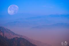 Ayubia, KPK, Pakistan (ziagrapher) Tags: moon landscape kpk ayubia evening weather