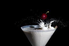 Splash-1 (crisse38) Tags: openflash lait splash milk red rouge