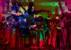 Marionetas de Feria (seguicollar) Tags: imagencreativa photomanipulacin art arte artecreativo artedigital virginiasegu marionetas feria brazos piernas manos cabezas figuras muecosmadera atraccinferial