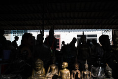 * (Sakulchai Sikitikul) Tags: street snap streetphotography summicron songkhla sony silhouette shadow thailand 35mm leica statues