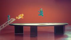 Trampoline space (pixlilli) Tags: lego legography space afol toys
