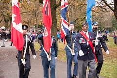 20161111_0018_1 (Bruce McPherson) Tags: brucemcphersonphotography remembranceday southmemorialpark southmemorialparkcenotaph cenotaph vancouverpolice vpd cadets marchpast march marching autumn fall fallleaves memorial vancouver bc canada