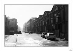 La niebla de la maana (V- strom) Tags: blanconegro urbana nikon nikon2470 niebla calle luz arquitectura