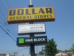 Classic Dollar General Sign (Random Retail) Tags: sign retail store tn dollargeneral kingsport 2015 colonialheights