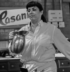 Hustling Waitress, Jeanty Bistro, Yountville  California (birdlives9) Tags: infocus highquality