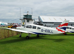 G-EGLL Piper PA-28 Warrior (SteveDHall) Tags: show ga airport display aircraft aviation airshow warrior ba piper britishairways airfield aerodrome baw pa28 generalaviation lightaircraft sywell piperpa28warrior aeroexpo piperpa28 sywellaerodrome gegll britishairwaysflyingclub pa28warrior