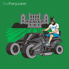 The Bat-mow-bile (Ben Douglass) Tags: summer art illustration design graphicdesign dc bruce batman dccomics tshirts gotham vector brucewayne lawnmover thedarkknight