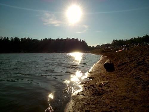 Солнце и блики