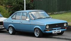 SPG 281R (2) (Nivek.Old.Gold) Tags: ford mk2 1977 13 escort gl 4door 2000cc