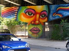 Happy Labour Day Weekend!  (1 of 4) (Trinimusic2008 - stay blessed) Tags: street city summer urban toronto ontario canada art colors outdoors colours candid august to publicart 2015 commissionedart faaces undrpass trinimusic2008 streettscene judymeikle