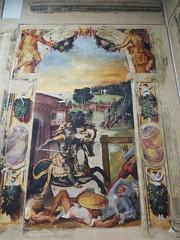 """Ruggero diretto al castello di Alcina"", Orlando Furioso, Niccolo dell'Abate (1499-1571), Pinacothque Nationale, Bologne, Emilie-Romagne, Italie. (byb64) Tags: italien italy museum painting europa europe italia eu muse peinture emilia bologna museo emilie 16th affreschi fresco bolonia renaissance italie pintura pinacoteca ue emiliaromagna fresko fresque bologne rinascimento frescos frescoes renacimiento ruggero fresques edadmedia alcina pinacotecanazionale orlandofurioso xvie emilieromagne pinacothque larioste niccolodellabate lariosto"