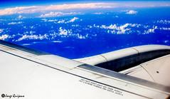 A Safe Piece of Advise (ceratof1) Tags: travel viaje plane warning canon airplane eos rebel flight wing ala avion advertencia vuelo t3i