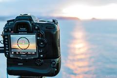 Ayer... (Jaime GF) Tags: camera spain nikon asturias shooting cmara gozn d40 nieva disparando d7000