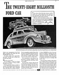 1940 Ford Twenty-Eight Millionth Ford Car (aldenjewell) Tags: ford sedan 1931 five deluxe ad 1940 15 25 28 20 eight twenty fifteen 1937 1927 fordor millionth
