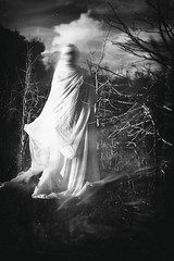 - (sanna.tugend) Tags: blackandwhite bw blur dark darkness ghost grain surreal mysterious grainy unreal ghostly blury mystic obscure