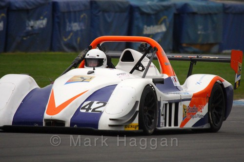 Richard Fearns in the Excool OSS Championship at Donington Park, October 2015