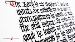 Twenty Third Psalm