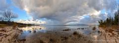 Lake Michigan ... autumn leavings III (Ken Scott) Tags: november autumn usa fall michigan fallcolors lakemichigan greatlakes hdr freshwater leelanau colortour 2015 45thparallel kenscottphotography kenscottphotographycom