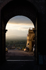 Chasing Light (Luminor) Tags: leica travel light sky italy sun mountains clouds landscape photography shadows view highlights tones assisi available harsh luminor apsc chasinglight xvario