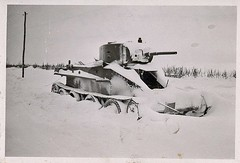 "Snow-covered Soviet tank BT-7 • <a style=""font-size:0.8em;"" href=""http://www.flickr.com/photos/81723459@N04/22410918788/"" target=""_blank"">View on Flickr</a>"