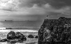 The ship (Saint-Exupery) Tags: leica bw bn srilanka galle