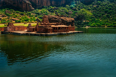 Bhootanatha Group of Temples, Badami (Madhu Gopalan) Tags: travel india temples karnataka badami chalukya bhootanatha