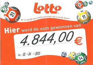 Lotto - €4.844