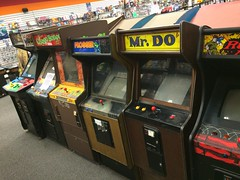 Lancaster Ohio Retro Game Shop (rbatina) Tags: pictures ohio game classic shop vintage mall river store video december photos sony nintendo xbox atari retro valley lancaster sega videogame 17 oh playstation 17th cartridges 2015 rubbertoe
