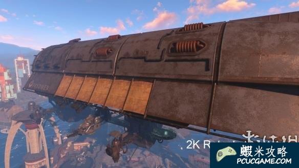 異塵餘生4 兄弟會飛艇2K新材質MOD