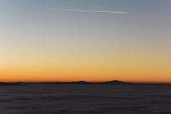 Fog (Luigi Pica) Tags: sunset sky mountains nature fog landscape nebbia