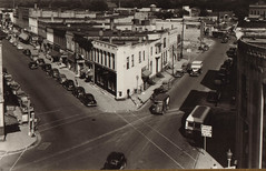 Downtown Portage, 40s, 50s