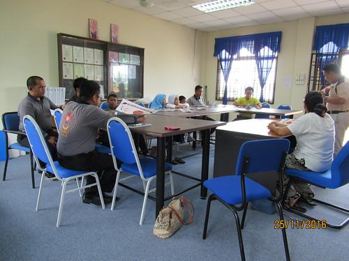 Meeting with Teachers at P. Sibu