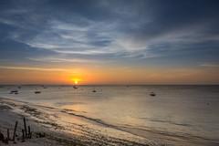 Sunset from Maruhubi Beach Villas (davpen) Tags: africa tanzania conditions beach sunset sunrise