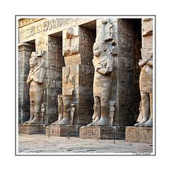 (2349) Medinet Habu Temple (Egypt) (QuimG) Tags: egipte egipto egypt medinethabutempleegypt golden art architecture arquitectura nikon quimg quimgranell joaquimgranell afcastell specialtouch obresdart
