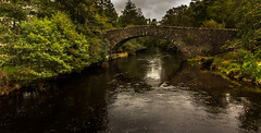 Arched. (Ian Emerson) Tags: bridge arches structure stonework river scotland water trees greenery postcard landscape outdoor canon 1018mm serene beauty