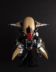 Architeuthic Intruder (TOKYO TAG TEAM) Tags: lego architeuthic intruder squid alien attack craft architeuthis