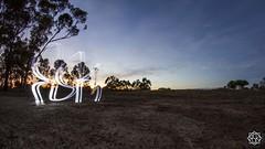 First morning of the year (MISHKA Vision - Light Graffer) Tags: australie australia lightpainting lightgraff longexposure expositionlongue nightphotography roadtrip