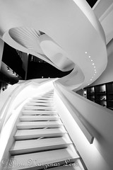 _MG_1426-Editwtmk (www.ThruMarzenasLens.com) Tags: dorianaandmassimilianofuksas italian marzenagrabczynskalorenc massimilianofuksas nyc architectural architecture bw blackandwhite building concept contemporary creative design dimentional futuristic geometric geometrical interior lines modern perspective project staircase stairs stairway steps structure white wwwthrumarzenaslenscom