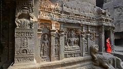 ENCHANTING ELLORA ! (GOPAN G. NAIR [ GOPS Photography ]) Tags: gopsorg gopangnair gops gopsphotography gopan photography kailasa temple ellora india shiva