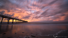 2016 - Landscape - Sunset - Largs - 09_10_09.jpg (stevenlazar) Tags: largs beach landscape sunset australia 2016 adelaide jetty ocean southaustralia clouds