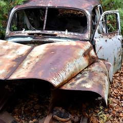 DSC_0057 v2 (collations) Tags: ontario mcleansautowreckers autowreckers wreckers automobiles autos abandoned rockwood derelict junkyards autograveyards carcemeteries