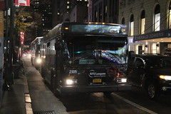 IMG_1556 (GojiMet86) Tags: academy express capital metro nyc new york city bus buses 1997 d30lf 2309 7069 34th street 6th avenue 5fyd2tn03vu017817