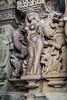 La bailarina desnuda (Nebelkuss) Tags: india khajuraho hinduismo hinduism templo temple bailarina dancers desnudo naked escultura sculpture religión religion espiritualidad spirituality fujixpro1 fujinonxf23f14