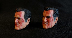 Knuckle Heads (Police-Box-Traveller) Tags: neca ashvsevildead ash evil dead 7 ashyslashy eligos chainsaw brucecampbell bruce campbell action figure reel toys shotgun